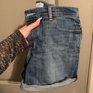 "Loft 4"" Jean Shorts"